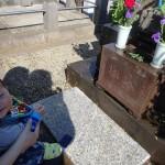 お墓参りと箱根。