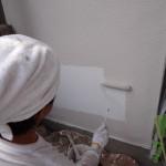 外壁塗装工事完了。