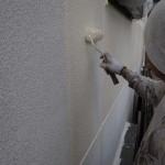 今日の外壁塗装工事。