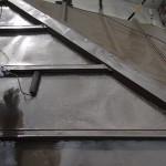 瓦棒屋根の塗装完了。