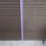 雨戸の塗装。