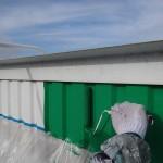 外壁塗装工事。