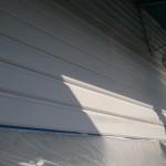 店舗の塗装工事。