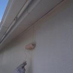 住宅の塗装工事。