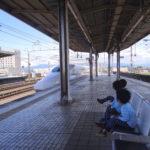初めて乗る新幹線。