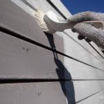 外壁トタン塗装。